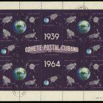 1964 Куба. Экспедиция кубинской почтовой ракеты 1964 года - 25 лет различным ракетам и спутникам [imp-4399] 3