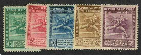 1930 Куба. 2-ые Центральноамериканские игры, Гавана  [imp-6013] 1