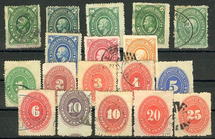 Мексика (18 шт) [imp-6673] 1