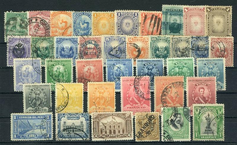 Перу (39 шт) [imp-6778] 1