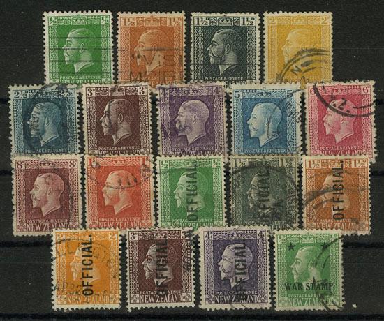 Новая Зеландия (18 шт) [imp-7139] 1