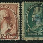 США. 1861 George Washington, 1732-1799, (•) [imp-7185] 4