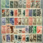 Годовой набор марок с наклейками 1944 (67 шт) 2