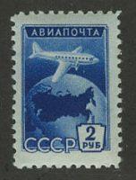 1955. Авиапочта. Стандартный выпуск [1727b] 14