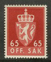 Норвегия. 65, ** [088] 9