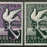 """1960. Португалия. Серия """"EUROPA Stamps"""", 2/2, ** [866-867] 3"""