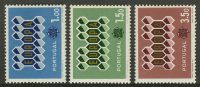 1962. Португалия. EUROPA Stamps. ** [895-897] 10