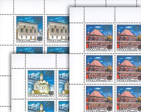 Архитектура Московского Кремля (3 листа) 1