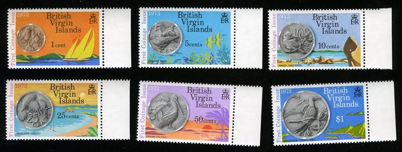 1973 Виргинские Острова. Монеты. [imp-1854] 1