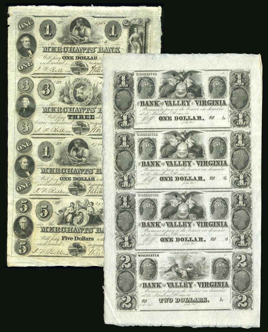 Листы американских денежных знаков [D-59] 1