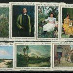 1967 Куба. Национальный музей Экспонаты - Картины [imp-8757] 2