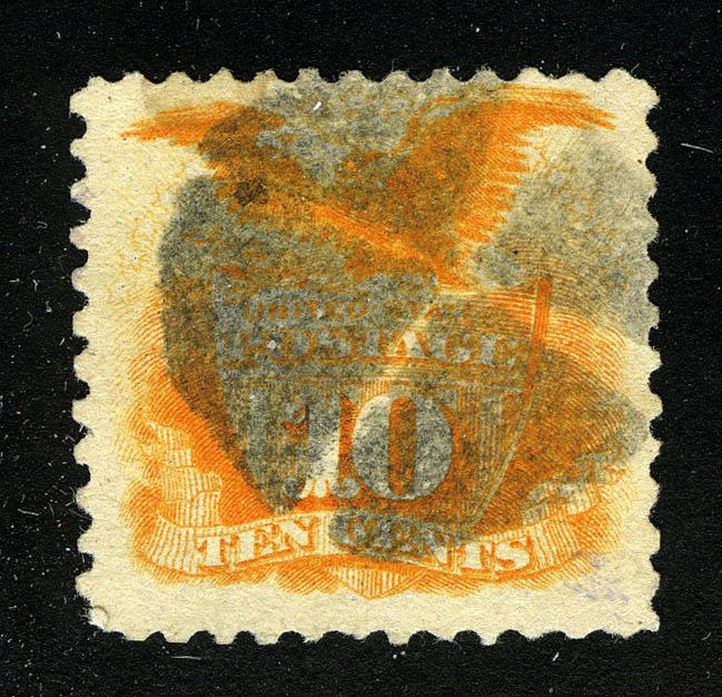 США. 1869 Shield and Eagle, (•) [imp-9392] 1