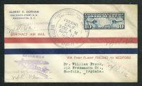 1926. Первый полет. Fresno - Medford 11
