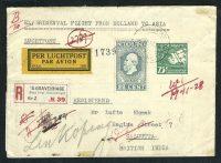 1928. Авиа. Нидерланды - Калькутта 10