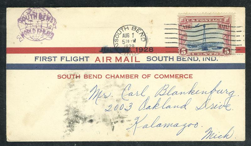 1928. Авиа. Первый полет. США 10