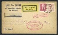1929. Katapultflug. Bremen - New York 16