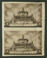 1937. Сгиб. Архитектура новой Москвы. Центральный театр 17