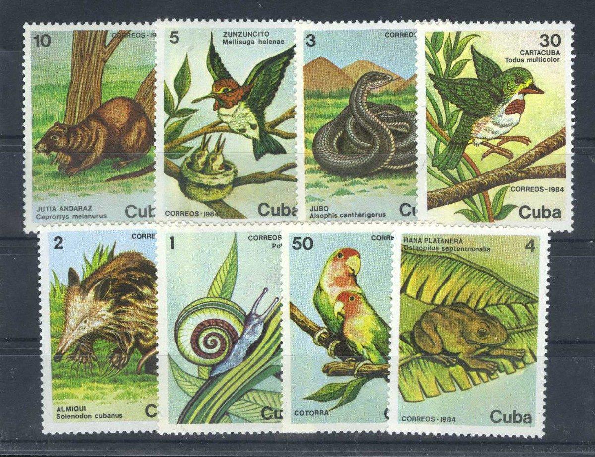 1984 Куба. Кубинская дикая природа. [imp-10362] 1