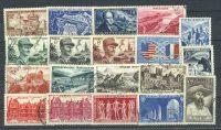 Франция. Набор марок (19 шт.) [imp-10443] 9