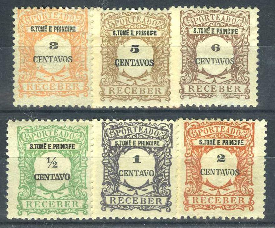 Португалия, Сан-Томе и Принсипи (колония) [imp-10497] 1