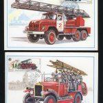 КПД. 5 карточек с марками 5611-5615. 3