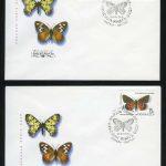 КПД. 5 конвертов с марками 5290-5294. 5