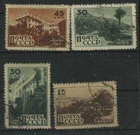 1946. Курорты Кавказа. [957-960-2] 9