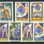 1958. 100 лет русской почтовой марки. [2108-2118] 3