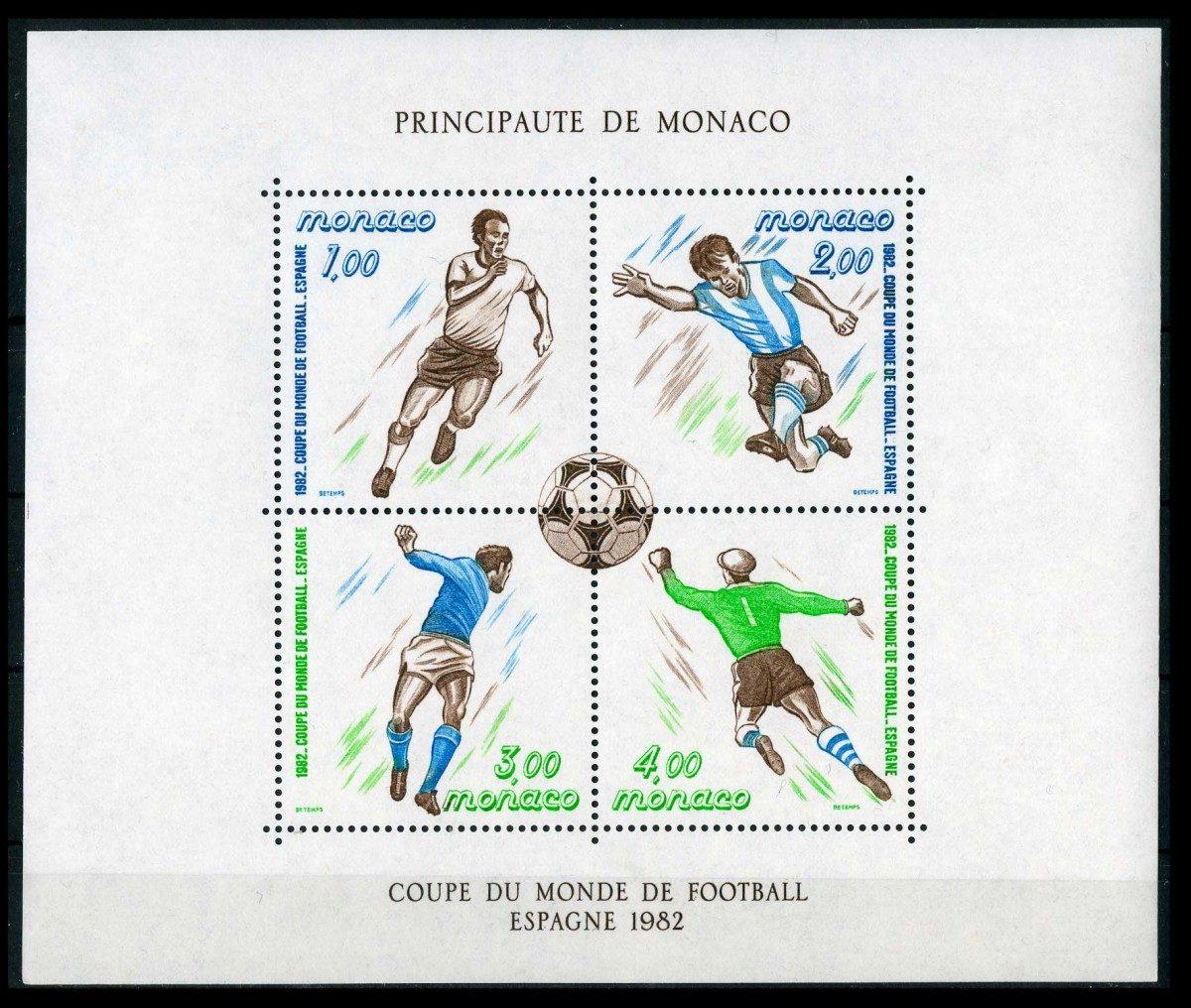 Монако. Чемпионат мира по футболу - Испания