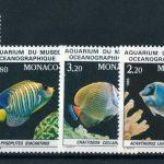 """1985. Монако. Серия """"Рыбы в Океанографическом музее"""""""
