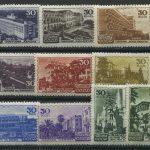 Марки СССР 1947 Курорты СССР