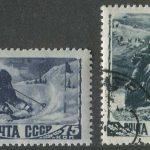 1995. 300 лет Российскому флоту. Флот в произведениях живописи. [M-IV-246-249] 7
