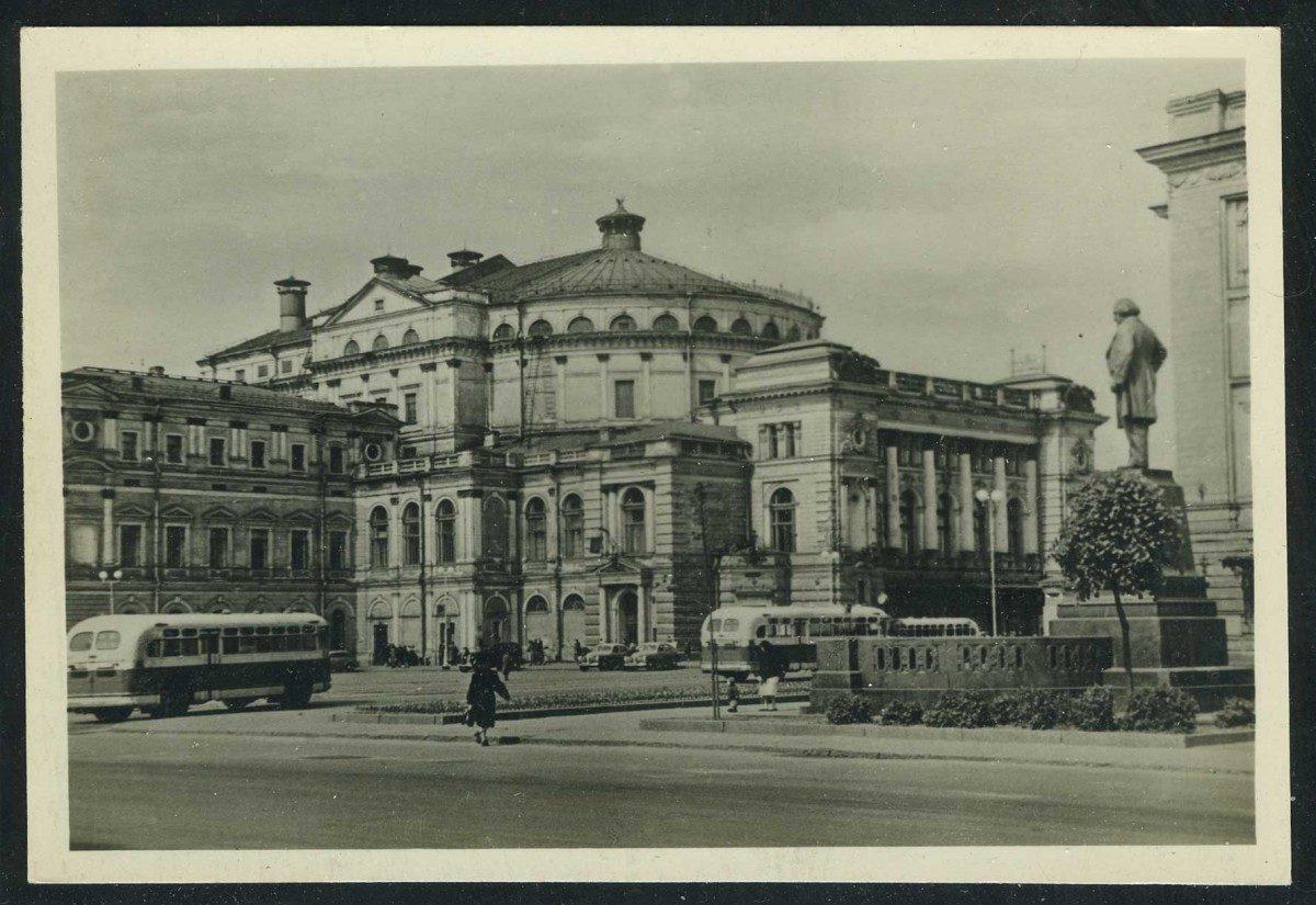 1950. Ленинград. Театральная площадь. 1