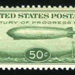 1936. Лихтенштейн. Авиапочта, Zeppelin. Liechtenstein Air Post. Набор 2 шт. [imp-11228] 4