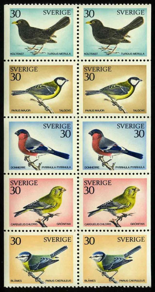"1970. Швеция / Sverige. ""Фауна"". ** [imp-11285] 1"