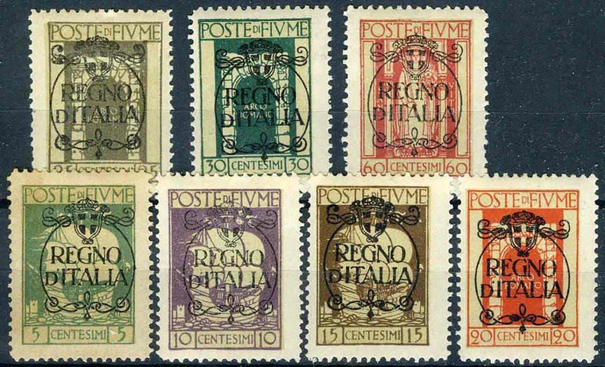 1924. Fivme. (часть Италии) * I [imp-11304] 1