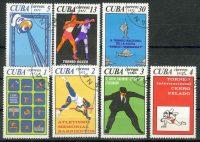 """1972. Куба / Cuba. Набор """"Спорт"""". (•) [imp-11400] 33"""
