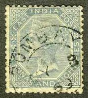 1866. Индия / India / भारत. Гашёные [imp-11443_gt] 18