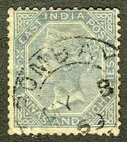 1866. Индия / India / भारत. Гашёные [imp-11443_gt] 1