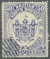 1896. Северное Борнео / North Borneo. [imp-11461] 16