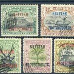 1909. Северное Борнео / North Borneo. 9 шт. [imp-11471] 3