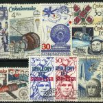 "1977. Чехословакия / Československo. Набор ""Космос"". 10 шт. (//) [imp-11519] 2"