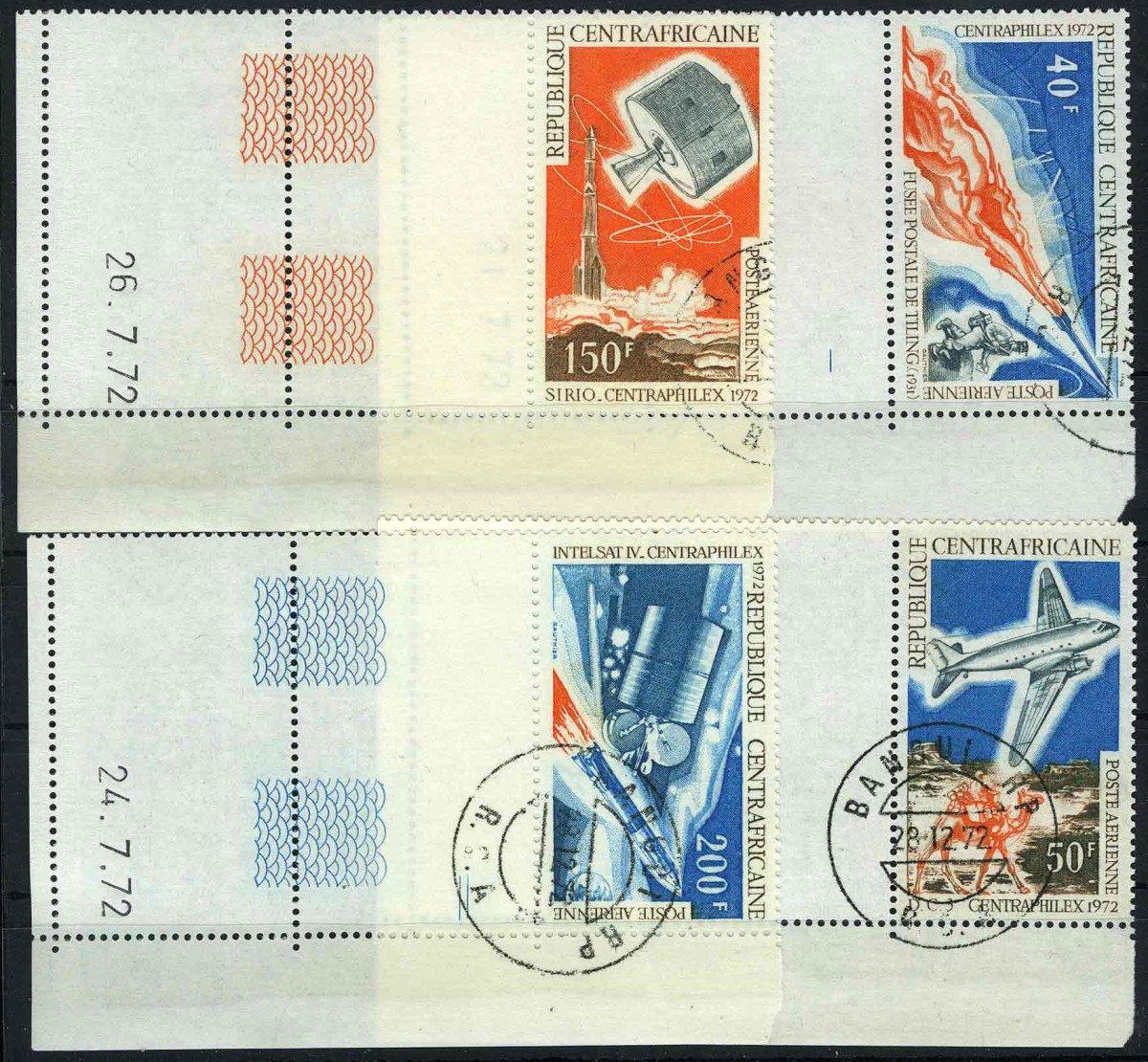 1972. Центральноафриканская Республика. CENTRAPHILEX, (//) [imp-11535] 1