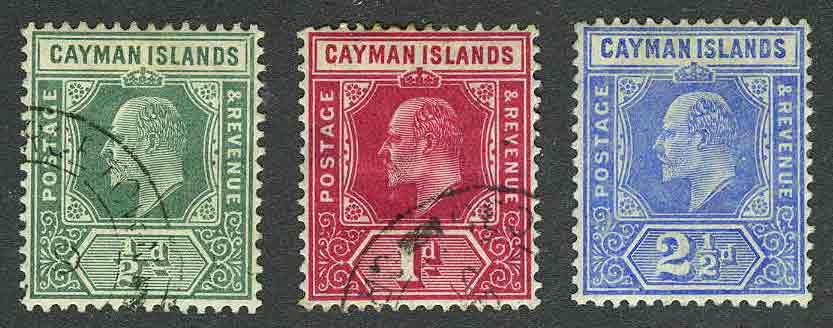 1907. Каймановы острова / Cayman Islands. (•) / * [imp-11577] 1