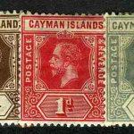 1907-1909. Каймановы острова. Король Эдуард VII - Новый дизайн [imp-11587] 2