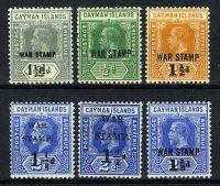 1917. Каймановы острова / Cayman Islands. 6 шт. * [imp-11590] 5