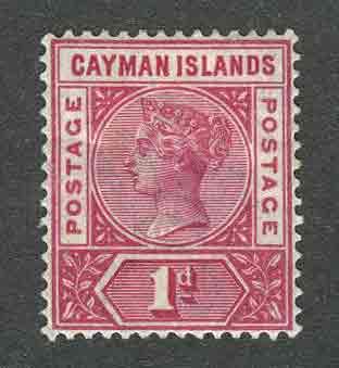 1901 Каймановы острова. Королева Виктория. [imp-11591] 1