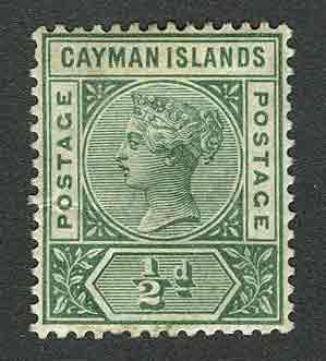 1901. Каймановы острова. Королева Виктория  * [imp-11592] 1