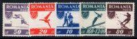 """1946. Румыния / România. Набор """"Спорт"""" 5/7. *I [imp-11604] 27"""
