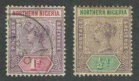 "1900. Северная Нигерия / Northern-Nigeria. Набор ""Монархи"" */(•) [imp-11613] 2"